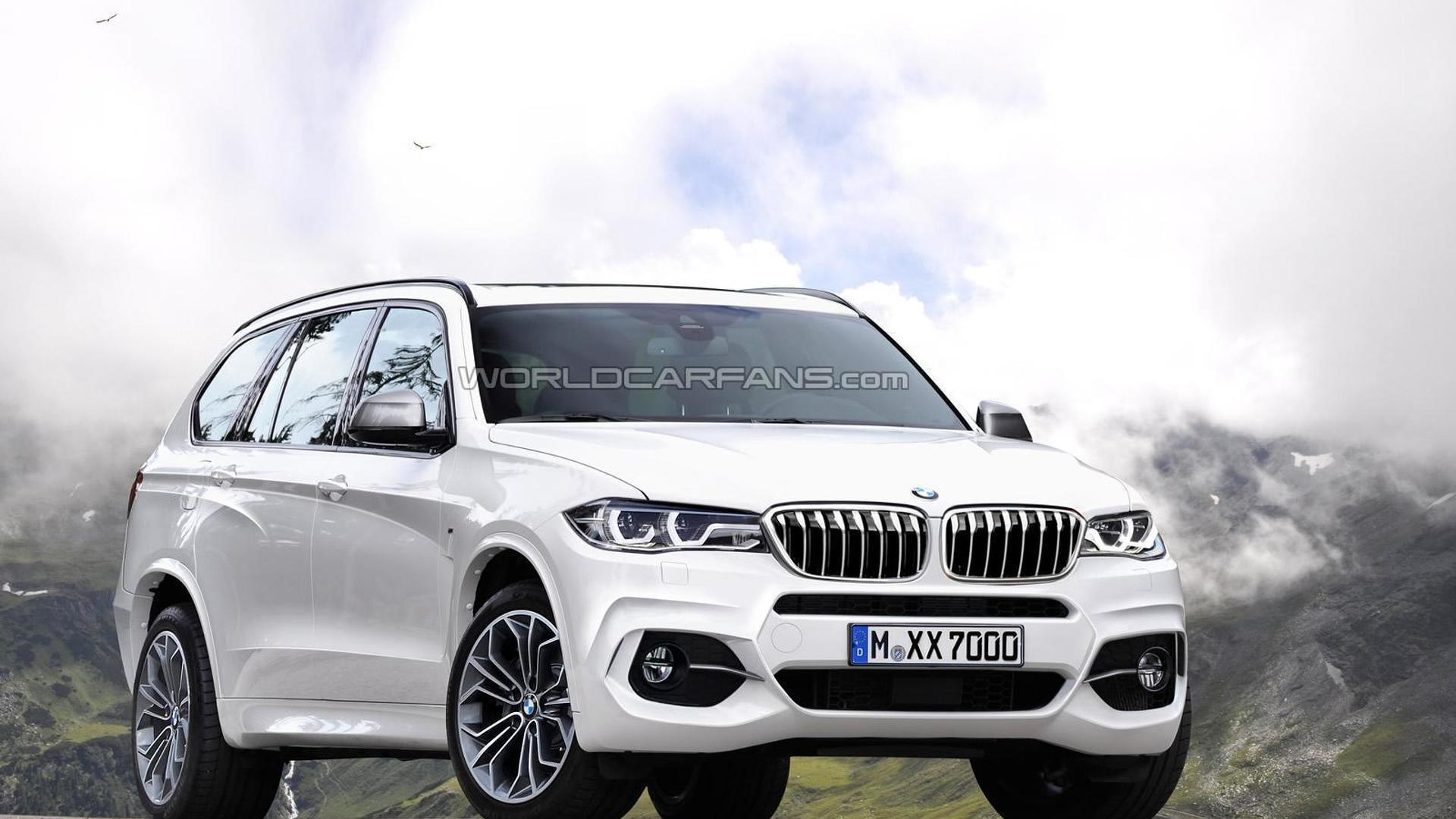 BMW X7 Render Is A Taste Of Whats To Come
