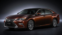 Lexus brings facelifted ES with 2.0-liter 4-cylinder engine to Shanghai