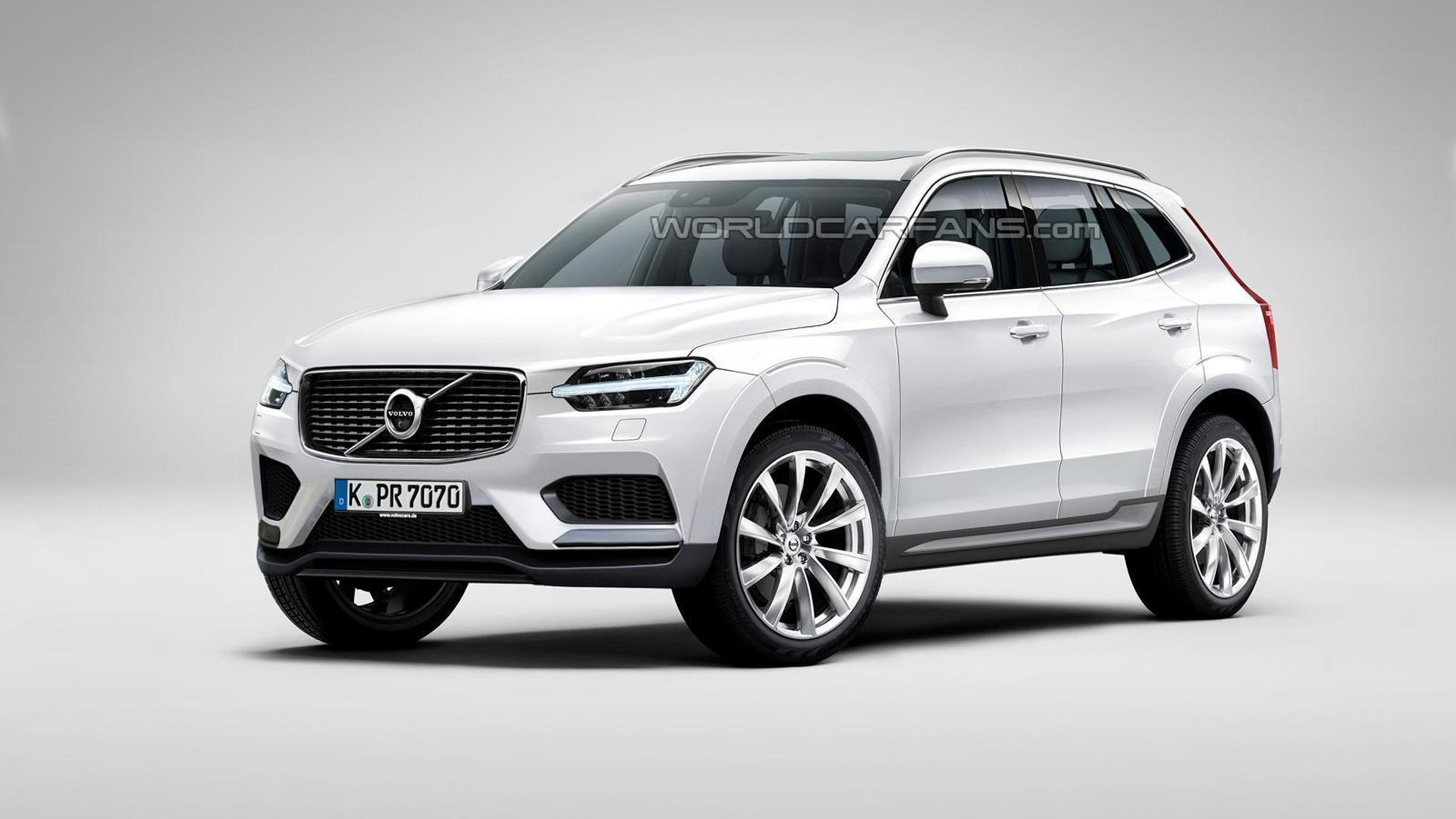 Volvo XC60 render shows what to expect from the upcoming ...