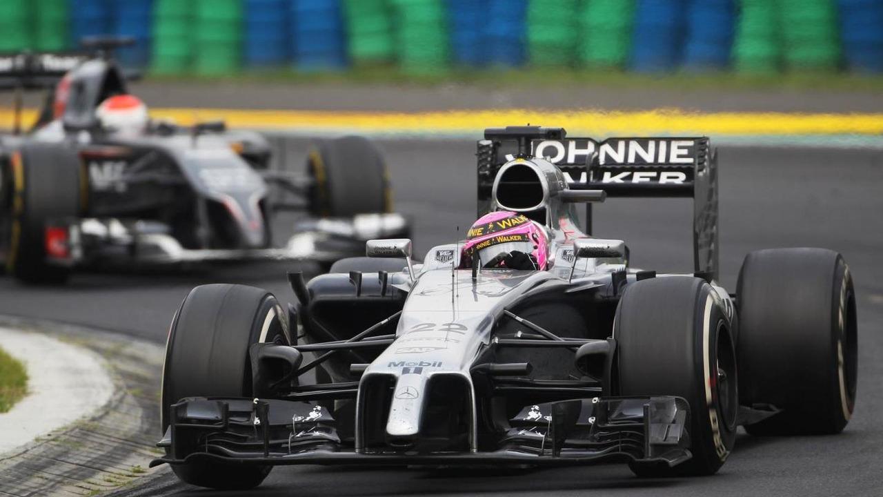 Jenson Button (GBR), 27.07.2014, Hungarian Grand Prix, Budapest / XPB