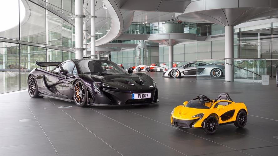 Voici la McLaren P1... 100% électrique !