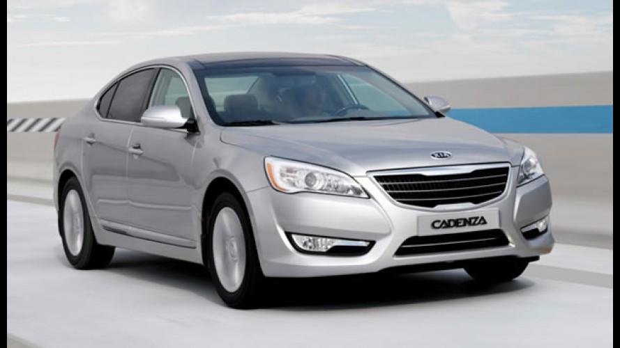 Novo Kia Cadenza é apresentado oficialmente - Sedan custará R$ 89.900 no Brasil