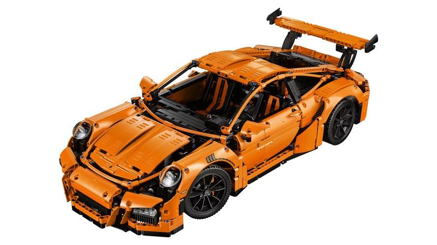 Lego Technic, Porsche 911 GT3 RS'ini tanıttı