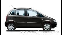 Na Europa, Fiat Idea recebe sistema Blue&Me de série e nova grade dianteira