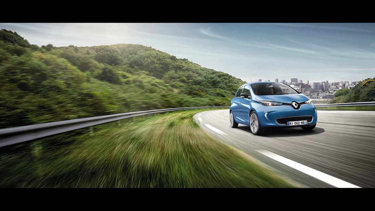 2017 Renault Zoe ZE 40 leaked photo