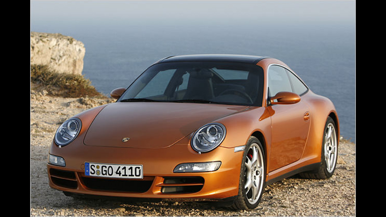 Platz 1 bei den Sportwagen: Porsche 911 (24,5 Prozent)