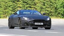 Aston Martin DB11 S nouvelles photos espion