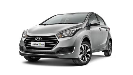 Hyundai lança HB20