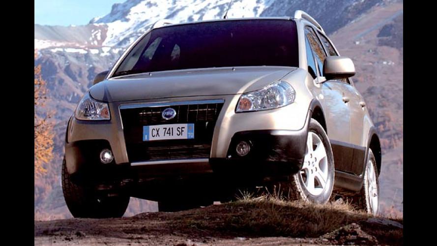 Fiat Sedici – Neuer Offroader mit innovativem Allradantrieb