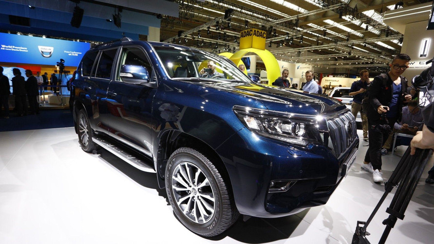 Toyota Land Cruiser - Une nouvelle version restylée à Francfort