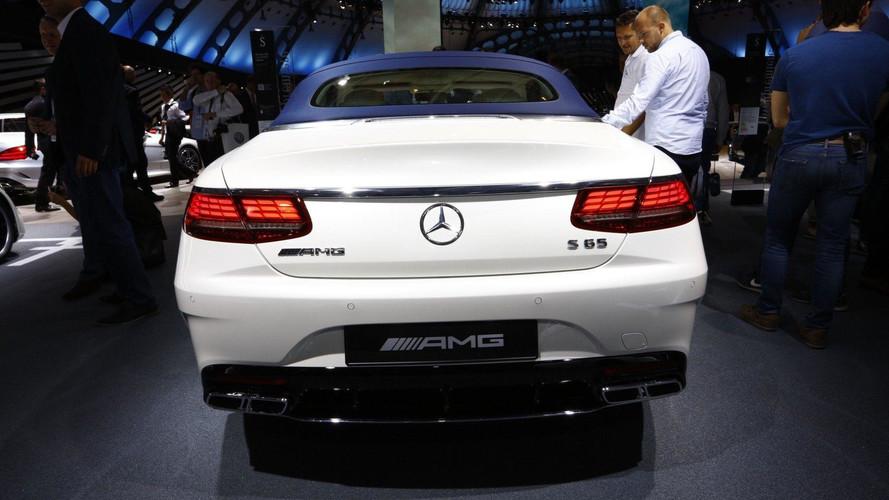 2018 - Mercedes Classe S Coupé et Cabriolet à Francfort