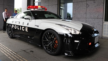 Someone Donates A Nissan GT-R To Police In Japan