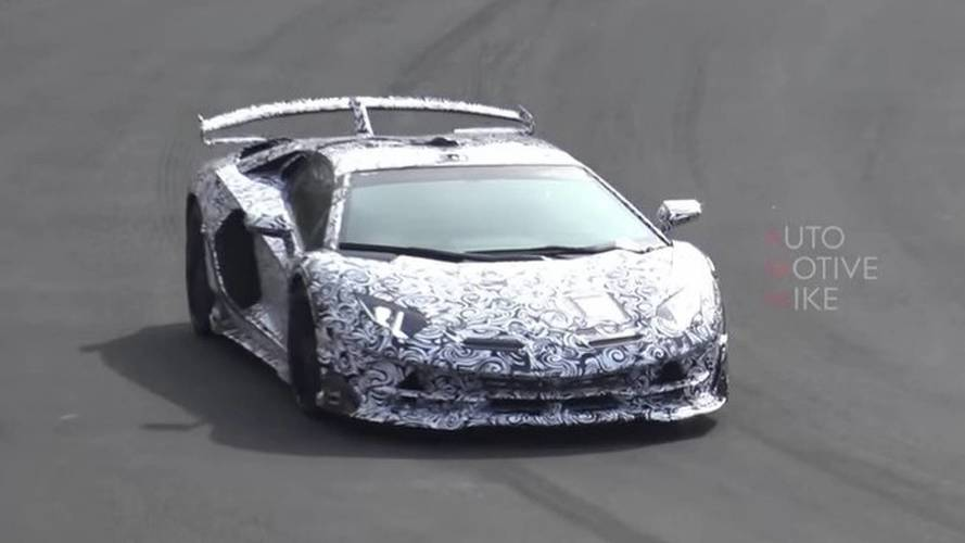 Listen To The Lamborghini Aventador SVJ In Action On The 'Ring