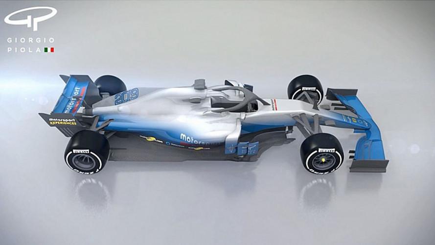 Enthüllt: So werden die Formel-1-Autos 2019 aussehen