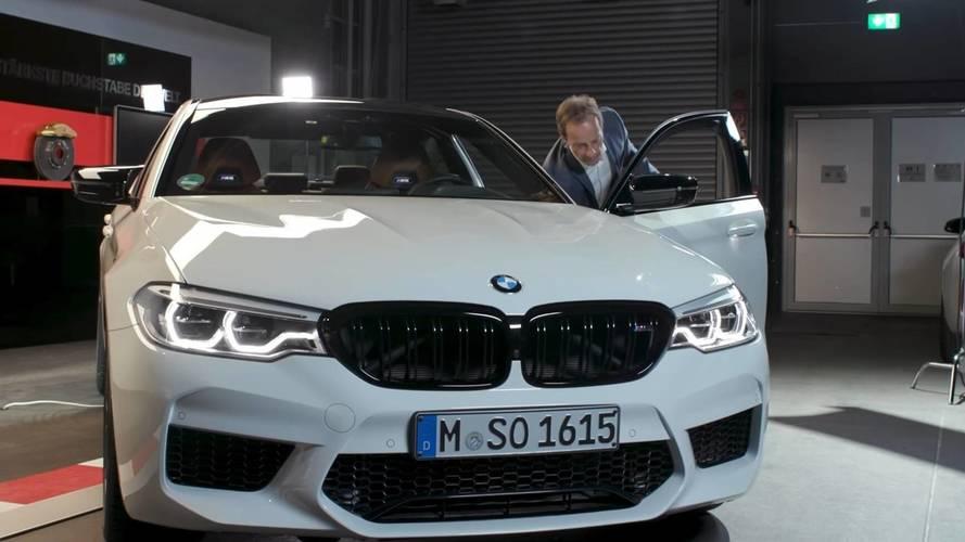 VIDÉO - La BMW M5 Competition présentée dans ses moindres détails