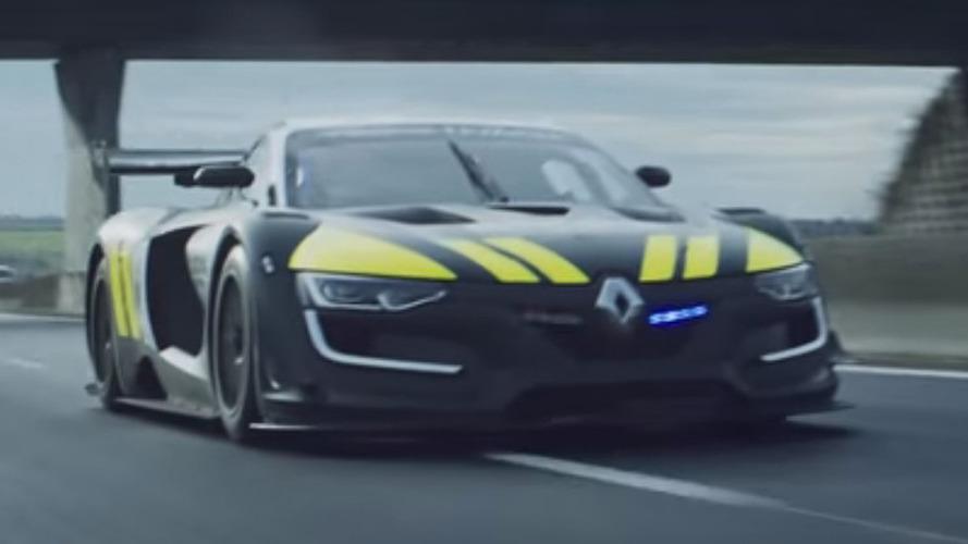 Renault Sport R.S. 01 Interceptor is one sick police car [video]