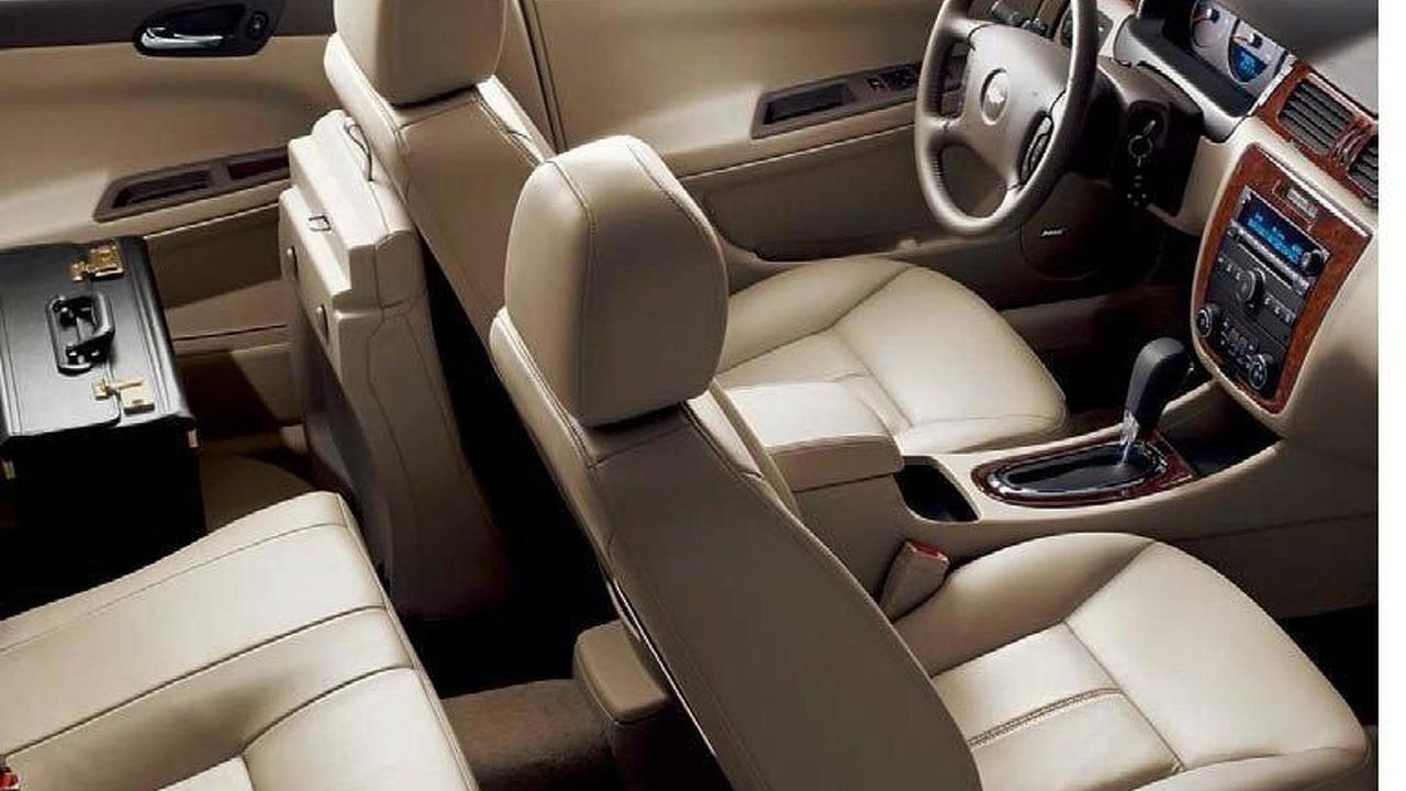 2012 Chevy Impala leaked 03.06.2011