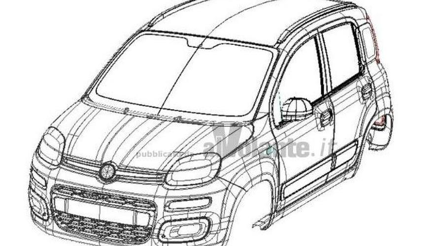 2012 Fiat Panda revealed in patent filing