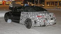 Mercedes C-Class Convertible spied near the Arctic Circle