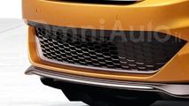 Fiat 500 five-door hatchback render