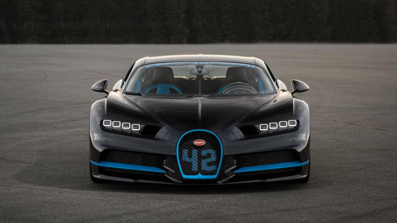 Juan Pablo Montoya and the Bugatti Chiron
