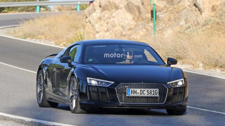Audi R8 GT 2018, fotos espía con unos misteriosos escapes
