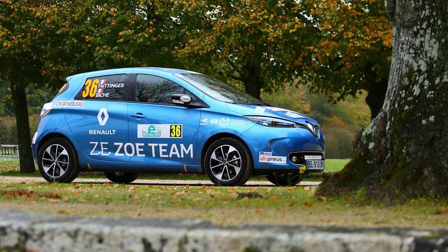 Motor1.com France Takes On eRallye Monte Carlo In Renault Zoe