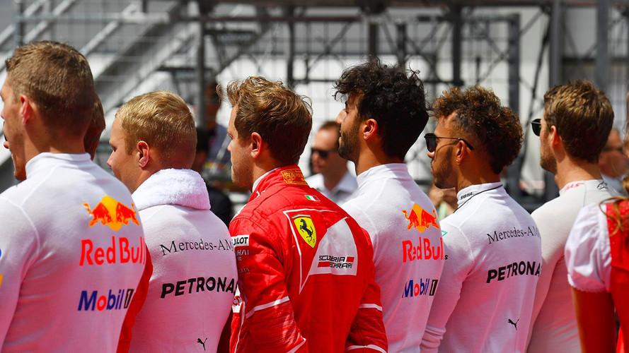 La parrilla de Formula 1 para 2018: pilotos y equipos