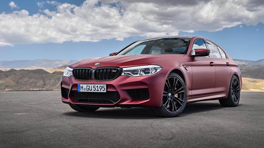 2018 BMW M5 Packs A 600-HP Punch, Standard All-Wheel Drive
