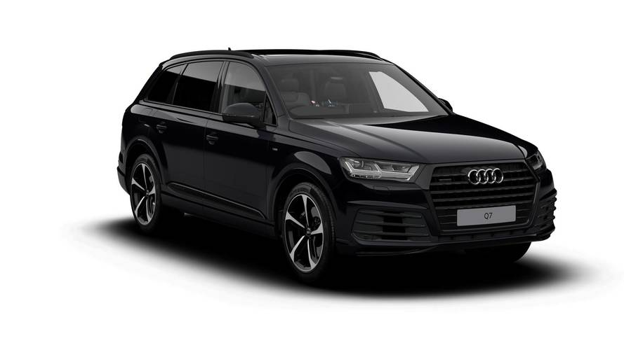 Audi loads up the Q7 with lots more black and even more toys
