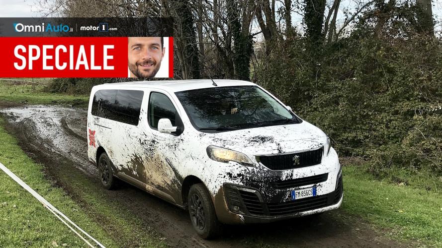 Peugeot Traveller 4x4, il lavoro duro... della trazione integrale