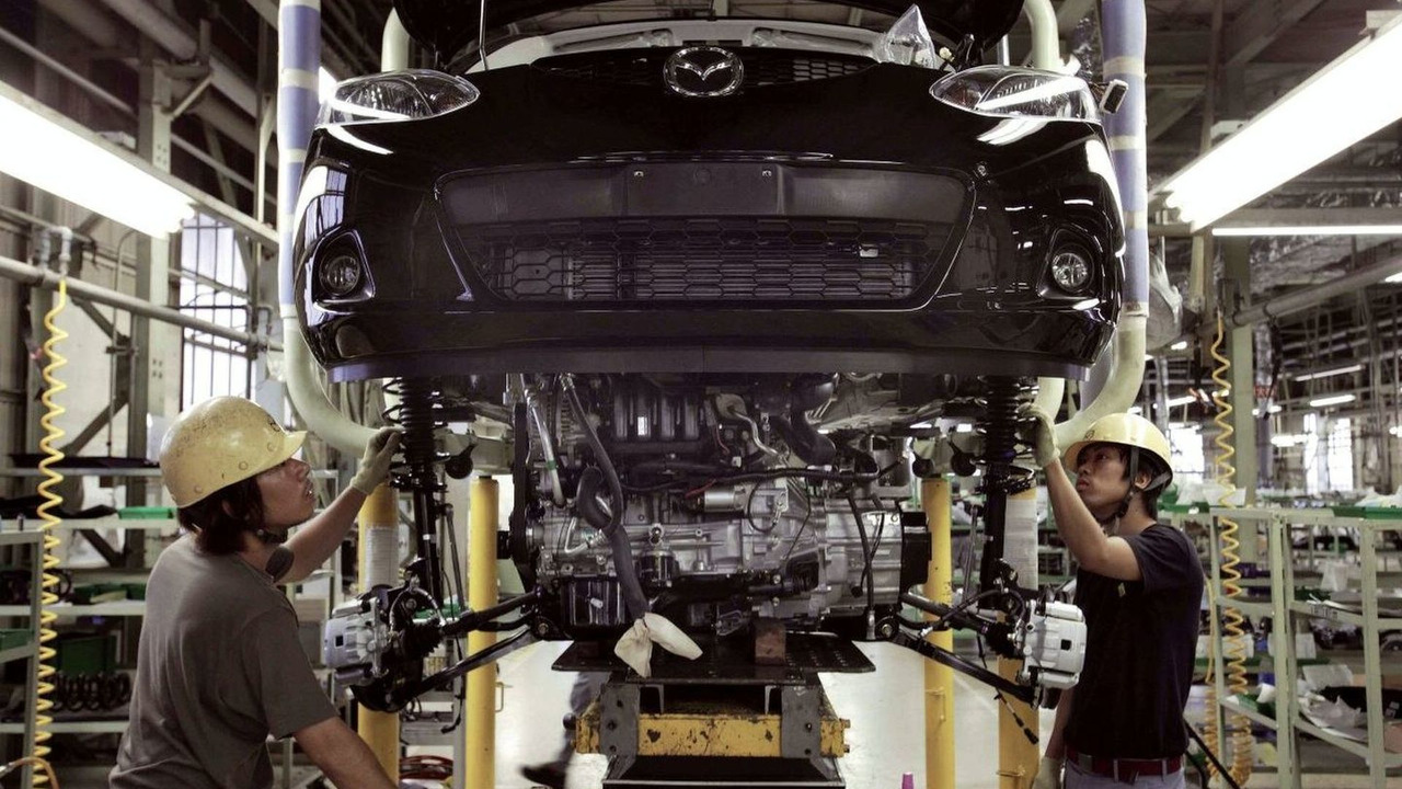 Mazda2 Production