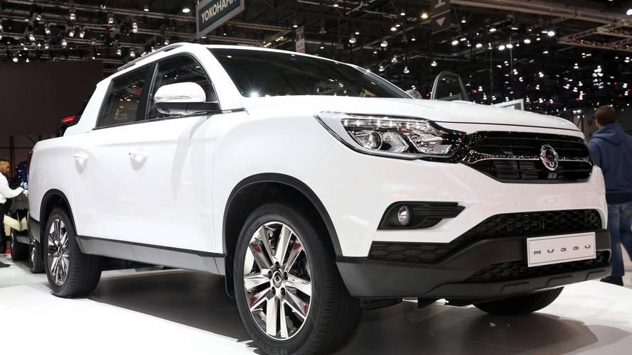 SsangYong Musso Pickup Truck Debuts At Geneva Motor Show