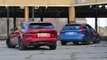 Jaguar XF Sportbrake Vs Volvo V90: Comparison