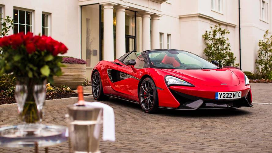 Happy Valentine's Day! Someone Gets Custom McLaren From Partner