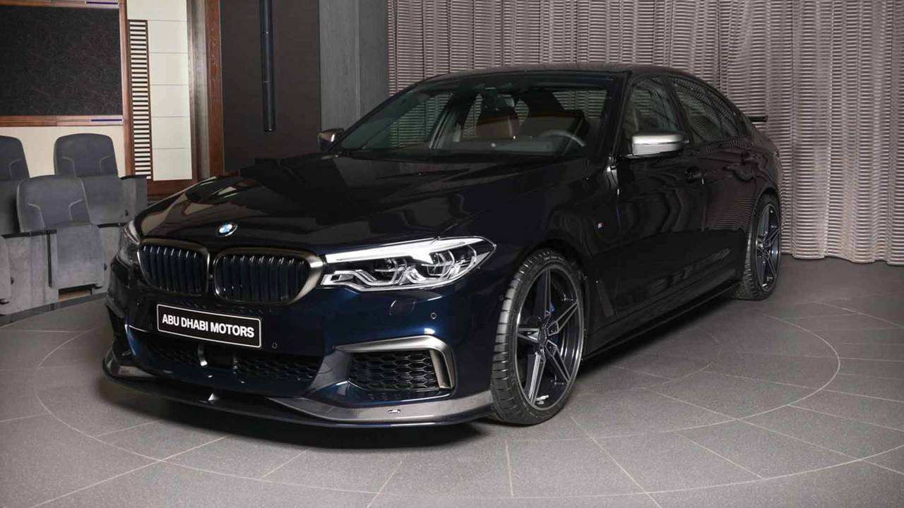 BMW M550i With AC Schnitzer Body