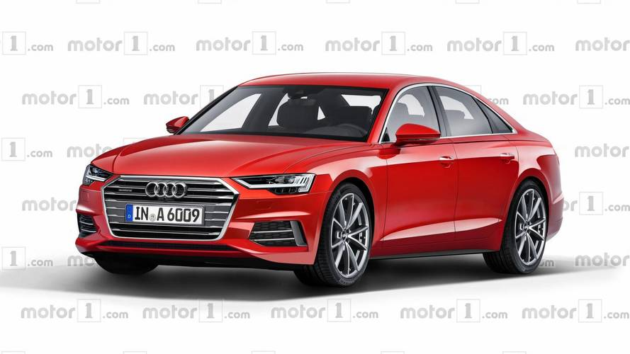 2019 audi a6 render could easily pass off as the real thing. Black Bedroom Furniture Sets. Home Design Ideas