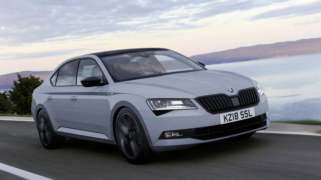 Skoda Superb SportLine Plus