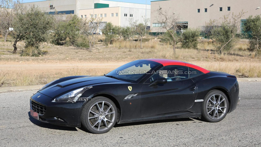 2015 Ferrari California mule spied in southern Europe