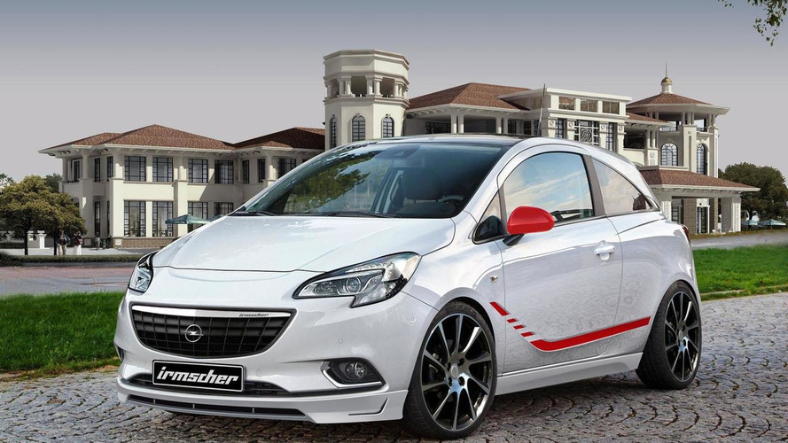 Irmscher introduces their styling program for the 2015 Opel Corsa