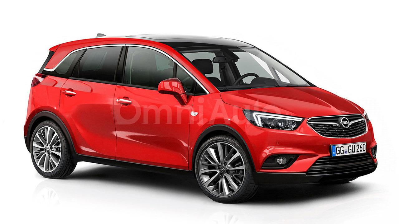 Opel Meriva rendering