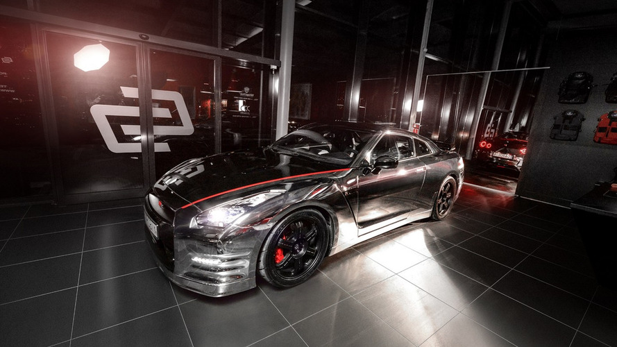 Carlex Design goes all out with chrome Nissan GT-R