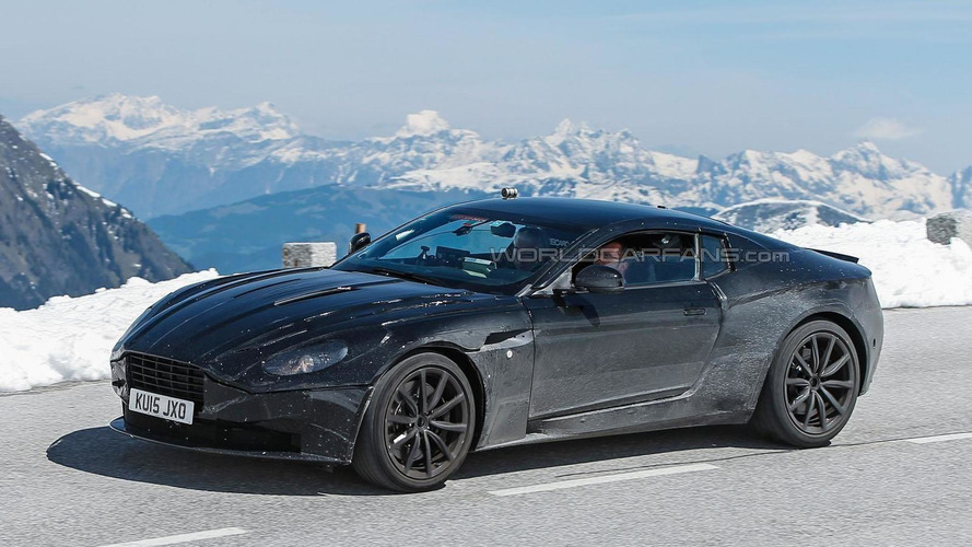 Aston Martin DB11 spied taking the scenic route