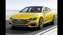 Genebra: Sport Coupe Concept GTE, prévia do futuro CC, mostra a nova cara da VW