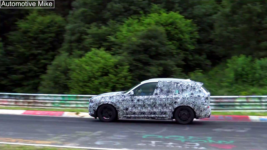 Watch how well the next BMW X3 handles the Nurburgring