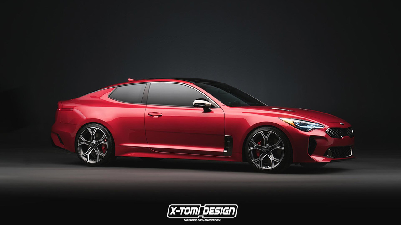 Kia Stinger Gt Coupe Wagon Are Unfortunately Only Renders