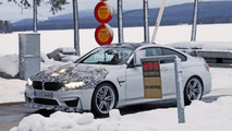 2018 BMW M4 CS spy photos