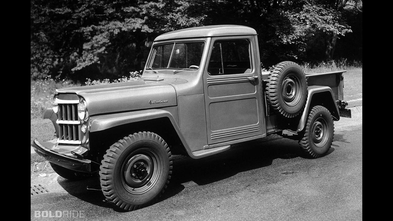 Jeep 4WD One Ton Pickup Truck