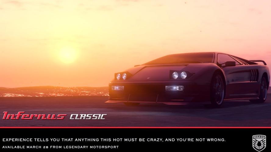 La Pegassi Infernus Classic sur GTA 5 !