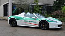 Ferrari 458 Spider Milan Police